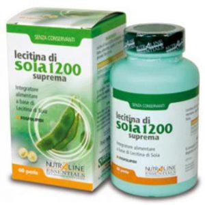 Lecitina Soia 1200 mg pentru stress memorare si concentrare