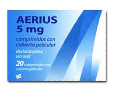 Prospect Aerius – alergie