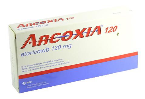 Arcoxia Medicament