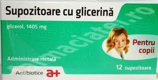 Prospect Supozitoare cu glicerina – constipatie