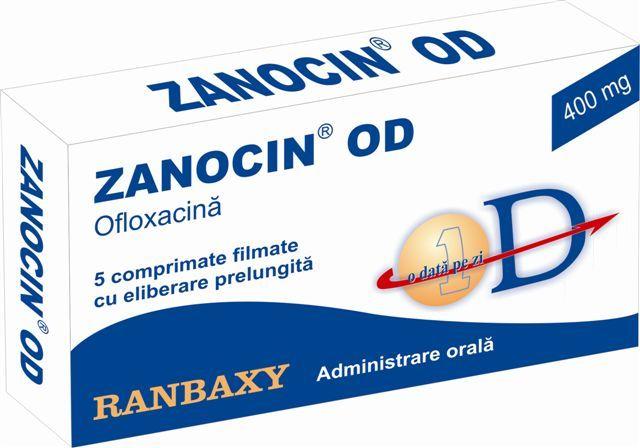 Prospect Zanocin 200 mg | Infectii respiratorii Tuberculoza Infectii ale pielii