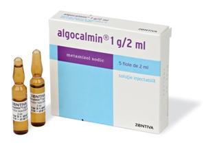 Prospect Algocalmin – solutie injectabila – dureri acute