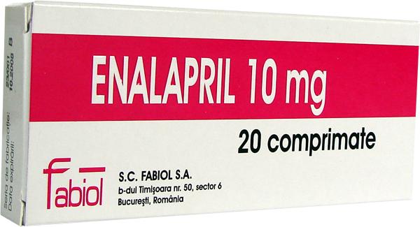 Prospect Enalapril 5-10-20mg   Vasodilatator Hipertensiune Arteriala