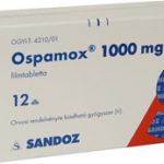 Prospect Ospamox 1000 mg – tratamentul infectiilor