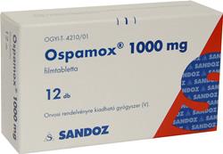 Ospamox prospect pentru infectii bacteriene