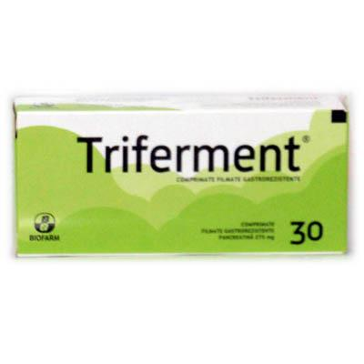 Prospect Triferment - enzime digestive pancreatina