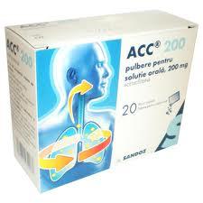 Prospect ACC 200 Pulbere orala | Afectiuni Bronsice Pulmonare