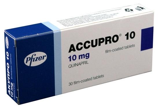Prospect Accupro 10mg - Hipertensiune Arteriala
