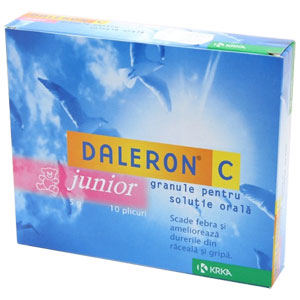 Prospect Daleron C junior plic cu granule
