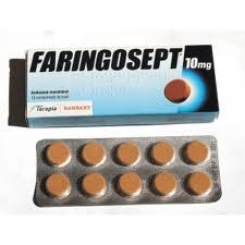 Prospect Faringosept 10mg - Infectii in gat gura