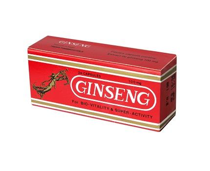 Prospect Panax Ginseng Tonic  cu B1 - Stres Oboseala