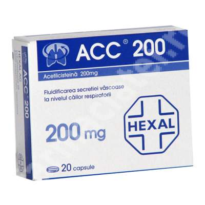 Prospect ACC 200 comprimate