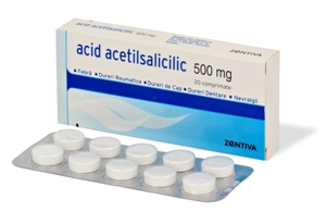 Prospect Acid Acetilsalicilic- 500mg – Aspirina Dureri