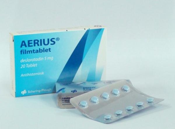 Prospect Aerius 5mg comprimate - Antialergic