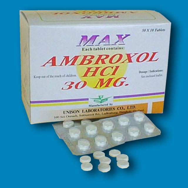 Prospect Ambroxol 30 mg - Boli Tract Respirator