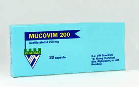 Prospect Mucovim capsule, 200 mg pentru bronsita acuta