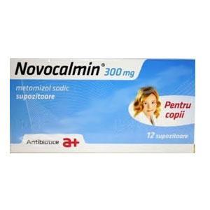 Prospect Novocalmin – supozitoare pentru copii