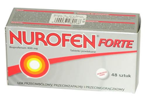 Prospect Nurofen Forte – Dozaj Efecte Adverse Utilizari