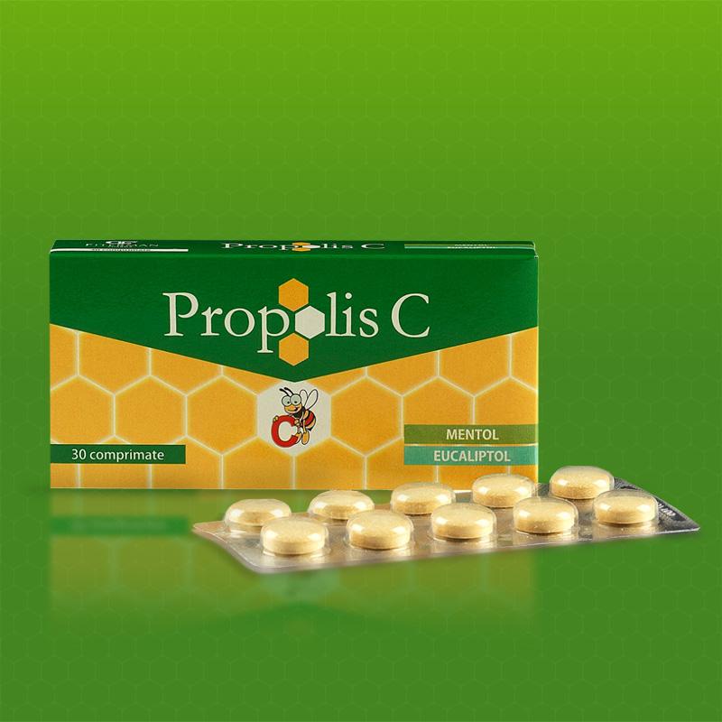 Prospect Propolis cu Vitamina C