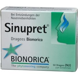 Prospect Sinupret & Sinupret Forte Drajeuri - Sinusuri Nazale