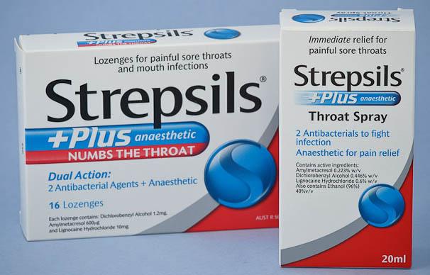 Prospect Strepsils Plus - Ameliorarea Durerilor Faringiene