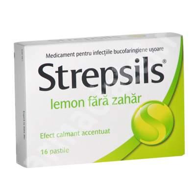 Prospect Strepsils Lemon Fara Zahar