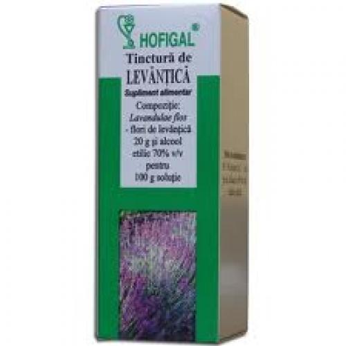 tinctura de levantica - Prospect Tinctura de Levantica -Stres Cefalee Migrene