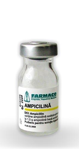 Prospect Ampicilina - Infectii  Respiratorii ORL Uro-Genitale