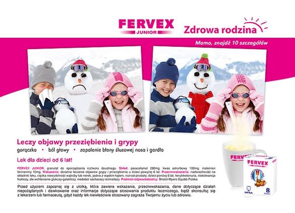 Prospect Fervex pentru copii