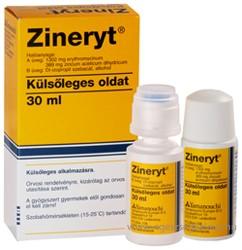 Prospect Zineryt solutie cutanata pentru acnee