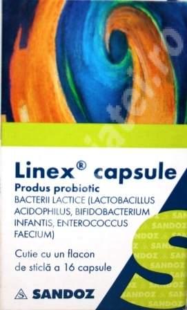 Prospect Linex capsule - Tulburari Digestive Balonare