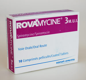 Prospect Rovamycine