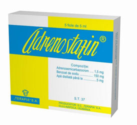 Prospect Adrenostazin - Prevenirea Hemoragiilor