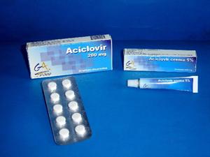 Aciclovir crema herpes