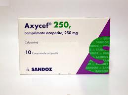Prospect Axycef - Infectii Bacteorologice
