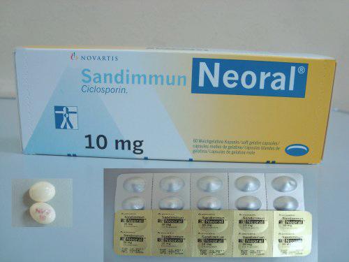 Prospect SANDIMMUN NEORAL - agent imunosupresor puternic