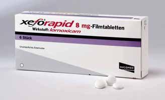 Prospect Xefo | Antireumatic Antiinflamator