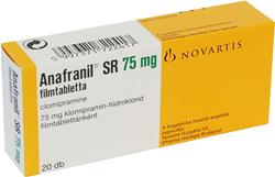 abafril - Prospect Anafranil - Depresie Suparare