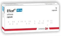 Prospect Eficef - 200 Mg - Antibiotic Pentru Infectii