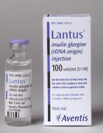 Prospect Lantus - Insulina Diabet