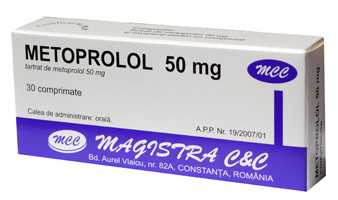Prospect Metoprolol LPH - HTA Hipertensiune Arteriala