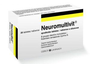 Neuromultivit - pentru nevralgii si neuropatii
