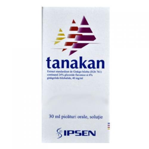 Prospect Tanakan picaturi 40mg/ml - Tulburări de Atentie Memorie
