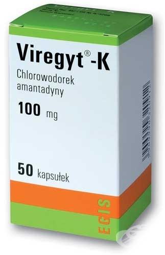 ProspectViregyt-K100mg capsule | Tratament curativ Parkinson
