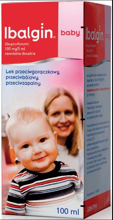 Prospect Ibalgin Baby Suspensie Orala 100mg/5ml
