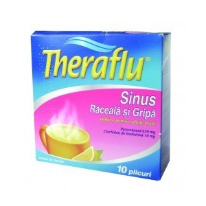 Prospect Theraflu Sinus Pulbere - Răceală Şi Gripă