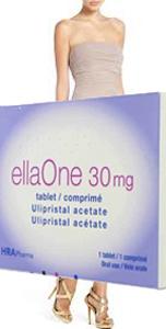 ellaOne contraceptive