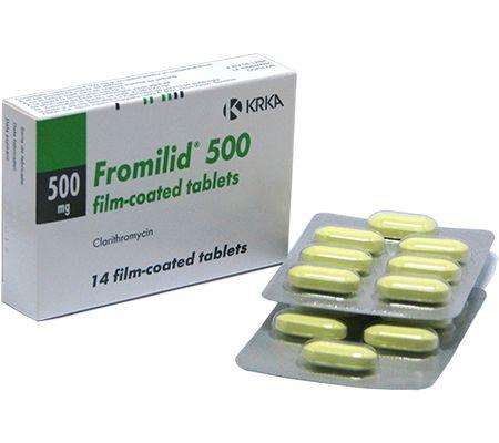 Prospect Fromilid - Infectii Respiratorii Bacterii