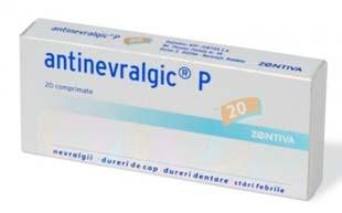 Antinevralgic - Prospect Antinevralgic Analgezic Dureri Stari Febrile