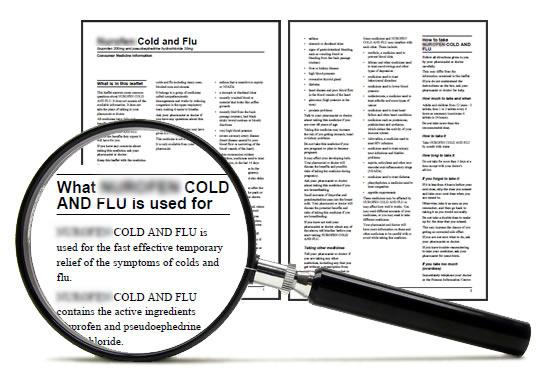 Prospectul medicamentelor contine informatii utile